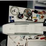 Fondo y laterales cabina blanik