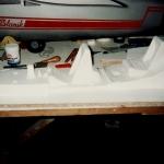 Fondo y laterales cabina del blanik 2